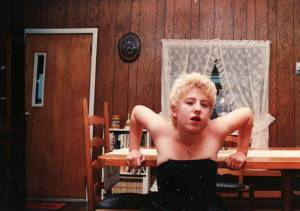 Me as Platinum Madonna at 16